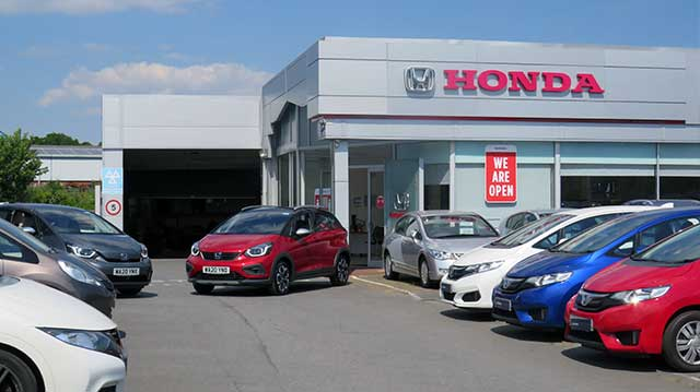 Speedwell Honda Footer Location Image
